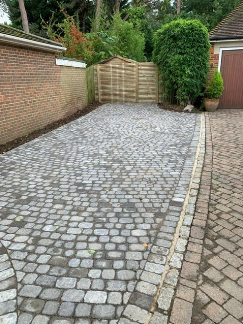 Front & Rear Paving in Weybridge