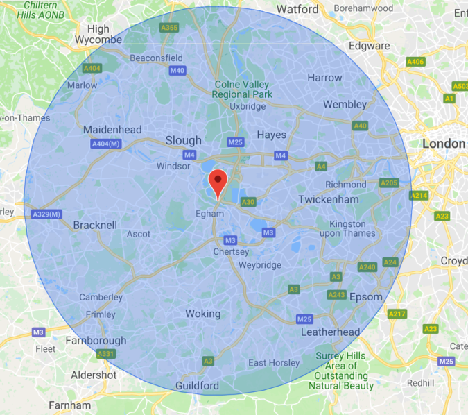 Paving Services within 15 miles of Staines, Middlesex