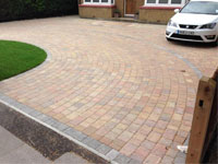 Staines Autumn Gold Paving