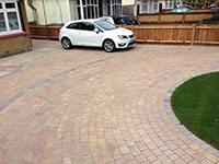 Block Paved Driveway Staines using Brett & Natural Paving